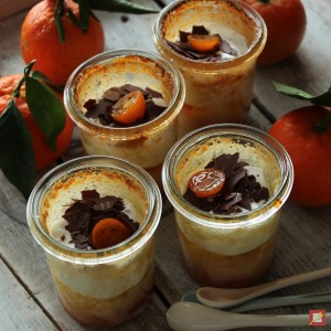 Mandarinen Kumquats Flan