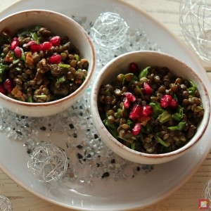 Dal with Pomegranate Seeds
